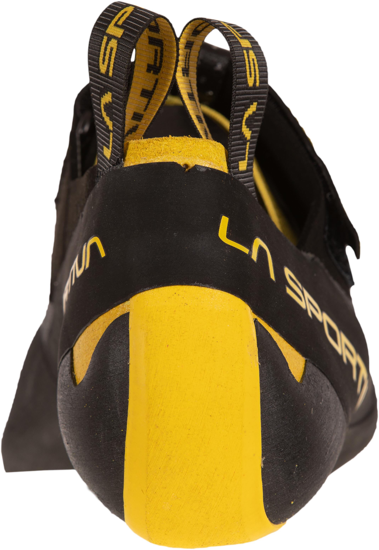 La Sportiva Theory Scarpe da arrampicata Uomo, black/yellow (2020) 1123043 OHiG2